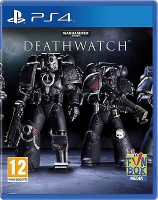 Warhammer 40-000 Deathwatch for Playstation 4 PS4 - UK Preowned - FAST DISPATCH
