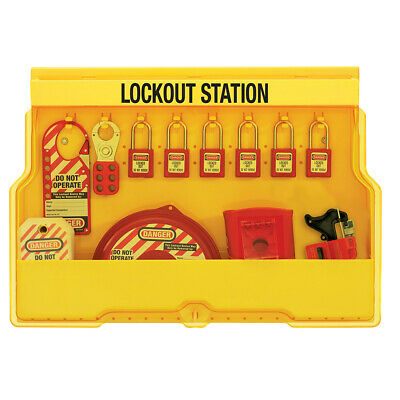 MasterLock S1850V410 Lockout Station (Filled) | AUTHORISED DEALER