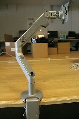 Humanscale M2 Monitor Arm Clamp Mount - Silver