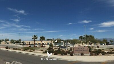 Buildable Salton Sea Lot, Power, Paved Road Frontage, Existing Neighborhood