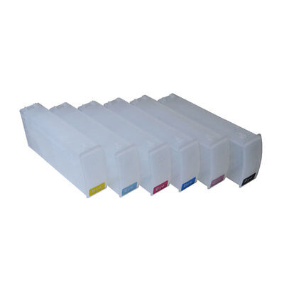 6x 680ml Empty Refilling ink cartridge for HP DesignJet 5500/5100/5000/1050/1055