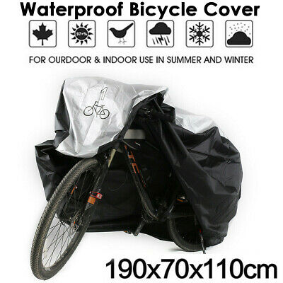 Waterproof Bike Bicycle Cycling Outdoor Cover Protector UV Snow Dust Resistant