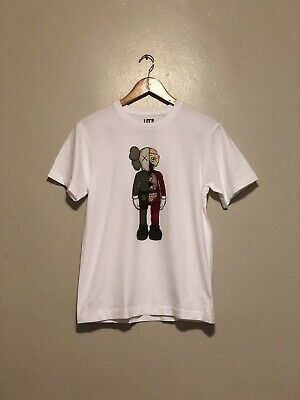 Uniqlo Kaws Ut Summer 2019 Graphic T-Shirt White Dissected Flayed Size Xs
