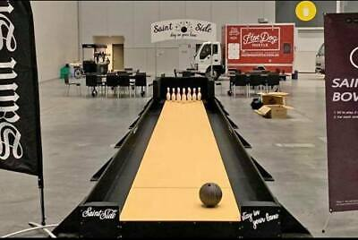 Custom Bowling Alley Man Cave Vintage Sign 10 Pin Hot Rod Muscle