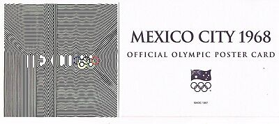 OFFICIAL AOC OLYMPIC POSTER CARD - MEXICO CITY 1968 (sealed in envelope)