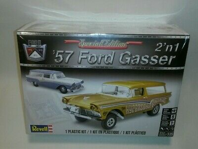 ☆ NEW Revell-Monogram 1957 Ford Gasser Plastic Model Car Kit - 1/25 #85-4396 F/S