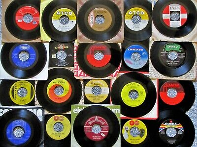 LOT OF 20 SOUL & R&B 50's & 60's * LOOK!!* 45rpm Records