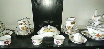 Royal Worcester Evesham Job Lot - everything in picture