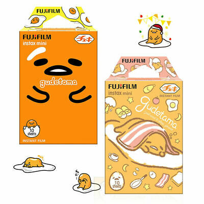 20 Sheets Gudetama Fujifilm Instax Mini Film Instant Photo Paper For Mini 9 8 7S