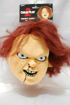 Mask Horror Latex Chucky Child's Play2 Maschera Bambola Assassina Smiffy's