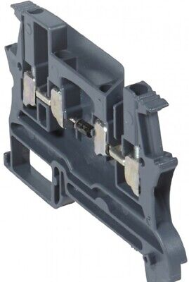 Legrand VIKING-3 SCREW TERMINAL BLOCK 5mm Pitch, 1-Connection Diode Carrier GREY
