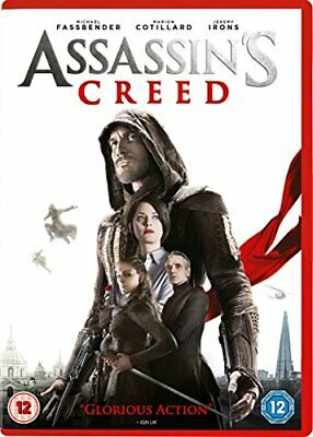 Assassin's Creed DVD (2017) Jeremy Irons