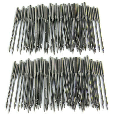 50Pcs Sewing Machine Needles Set 11/75,12/80,14/90,16/100,18/110 for Singer USA