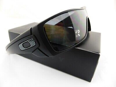 Oakley BATWOLF Sunglasses Matte Black - Grey Polarised Lens 9101-04