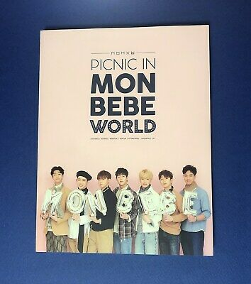 MONSTA X Fan meeting Picnic in MONBEBE World Official Photo Book