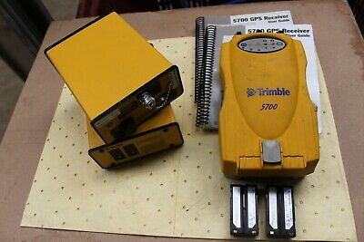 1 x Trimble GPS 5700 Receiver and 2 x Trimble Trimtalk TT450s