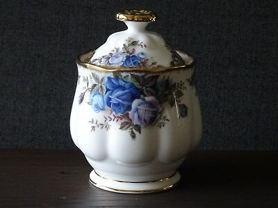 Royal Albert Moonlight Rose Marmalade Jam Pot Bone China England