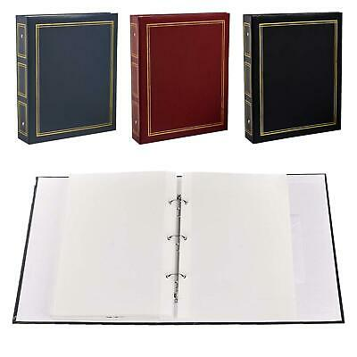 Deluxe Large Self Adhesive Ring Binder Photo Album 50 Sheets / 100 Sides