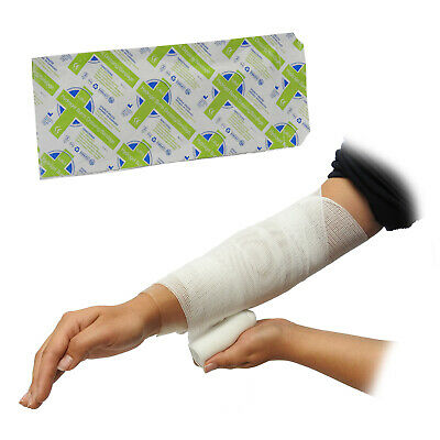 1x CMS Medical Hydrogel Cooling Burn Scald Relief Limbs Pad Dressing 5x100cm