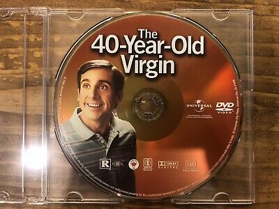 The 40-Year-Old Virgin (DVD, 2005, Full Frame Rated)