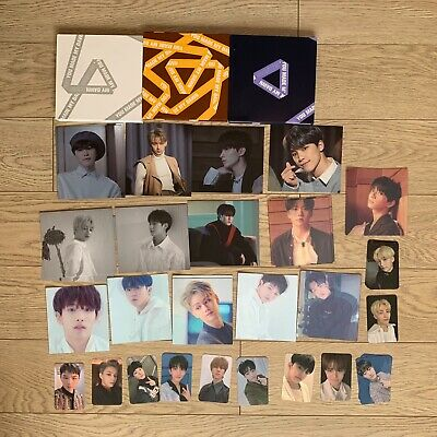 SEVENTEEN Album YOU MADE MY DAWN Official Photocard Lenticular behind scene card