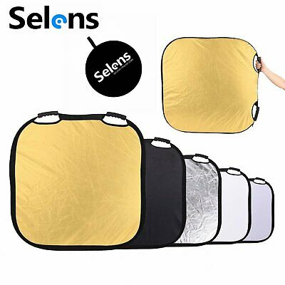 "Selens 5-in-1 80cm/ 31.5"" Square Reflector for Photography Photo Studio Lighting"