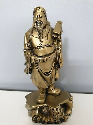 Chinese Figurine.bronze Effect. Age Unknown