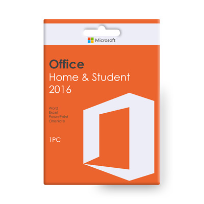 Microsoft Office Home and Student 2016 - for Windows OS | Downloadable Product