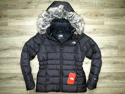 8aa115050 THE NORTH FACE Womens GOTHAM PARKA II Down Insulated Jacket Black ...