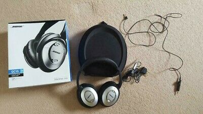Bose QuietComfort 15 / QC15 Noise Cancelling Wired Headphones with new ear pads