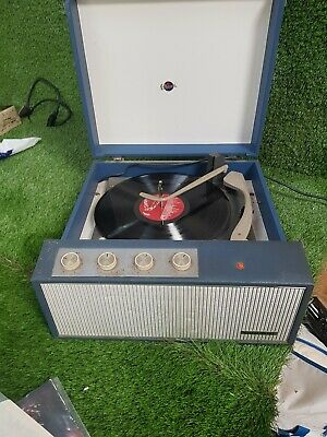 """Outstanding Sound """"Marconiphone"""" Vintage Record Player"""