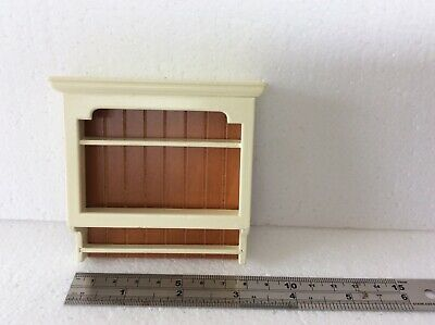 DOLLS HOUSE 1/12th scale SHAKER STYLE WALL SHELVES