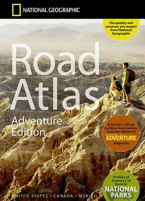 National Geographic Road Atlas 2019: Adventure Edition [United States, Canada, M
