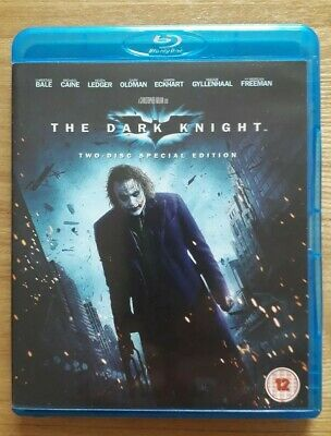 The dark knight blu ray dvd