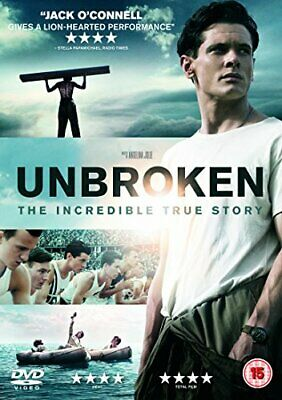 Unbroken DVD (2015) Jack O'Connell New