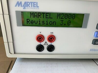 Martel Electronics M2000A Benchtop Multifunction Calibrator with IEEE interface