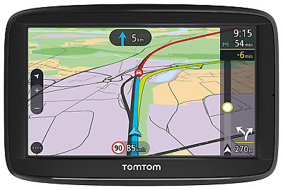 TomTom Car Sat Nav VIA 52, 5 Inch with Handsfree Calling, Lifetime Traffic NEW