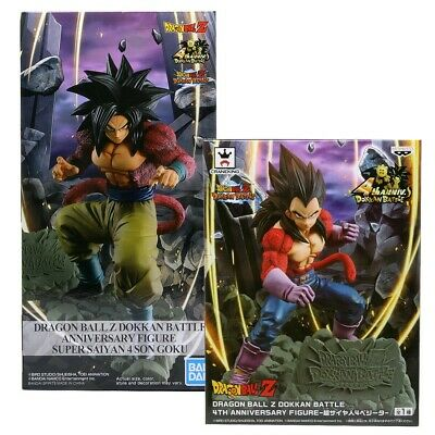 Banpresto Dragon Ball Z Dokkan Battle 4th Anniversary Figure Set