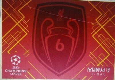Liverpool Limited Edition 6 Times Champions League 2019 Official Winners Flag