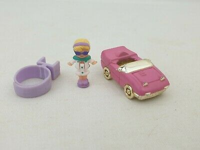 Vintage polly pocket Racy roadster Ring 1994 by bluebird toy excellent