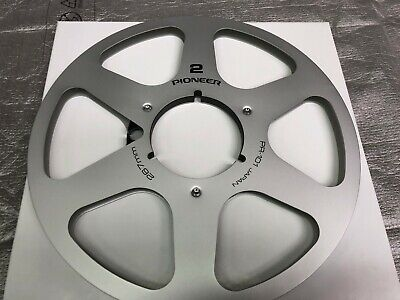 "New! Pioneer NAB 10.5"" inch Metal Reel for 1/4"" tape PR-101"