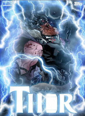 Topps Marvel Collect Card Trader Thorsday War Thor Motion Week 7