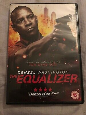 The Equalizer DVD Denzel Washington Chloé Grace Moretz