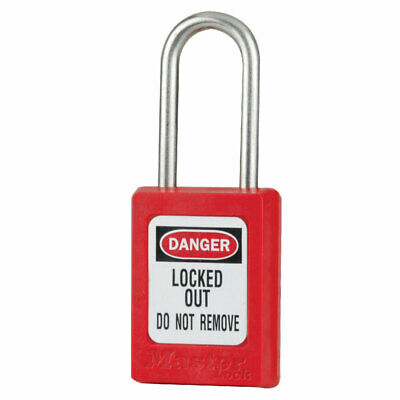 MasterLock S31 Thermoplastic Safety Padlock Lockout Tagout | AUTHORISED DEALER
