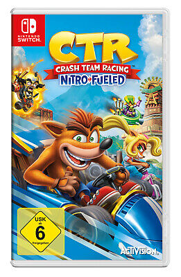 CTR Crash Team Racing Nitro Fueled [Nintendo Switch]