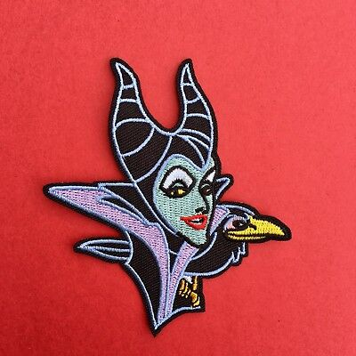 Disney Villains Maleficent Embroidered Appliqué Patch Sew Iron On #314