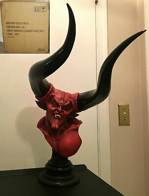 2009 Rare Lord of Darkness Legend Bust #664/1000 Sideshow tim curry statue pcs