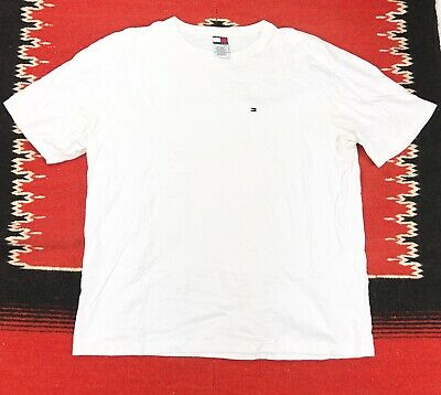 Tommy Hilfiger T-Shirt Men's Crew Neck Tee Classic Fit Short Sleeve Solid Shirt