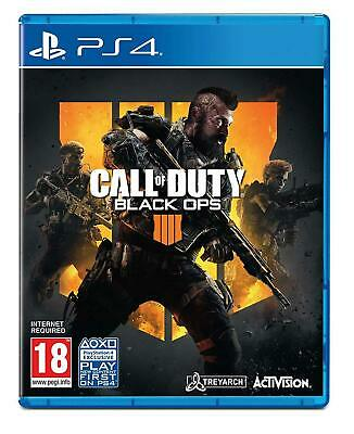 Call of Duty: Black Ops IV IIII 4 (Sony PlayStation 4, PS4)