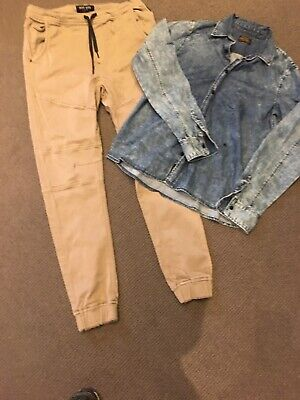 Boys clothing size 14 INDIE & REPLAY